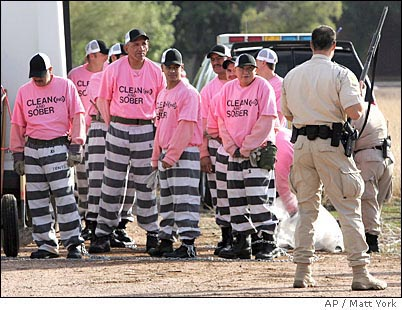 Sheriff Joe Arpaio the self-proclaimed u201ctoughest sheriff in Americau201d has made a name for himself by being tougher on prisoners than on crime. & The cruelest sheriff in America - Waging Nonviolence