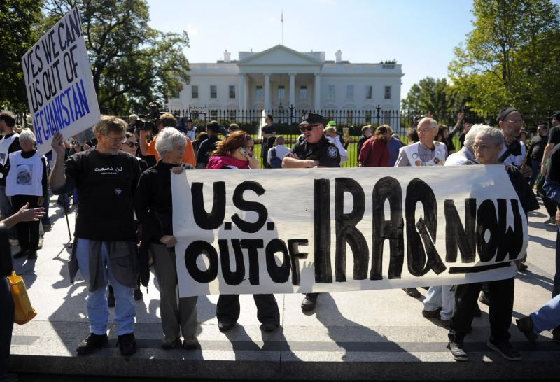 Afghanistan-Iraq-War-Protest