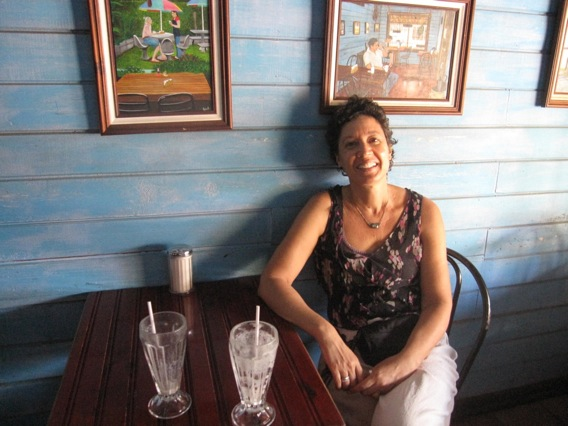 A HAPPY Canadian emigre in Costa Rica. Photo by author.