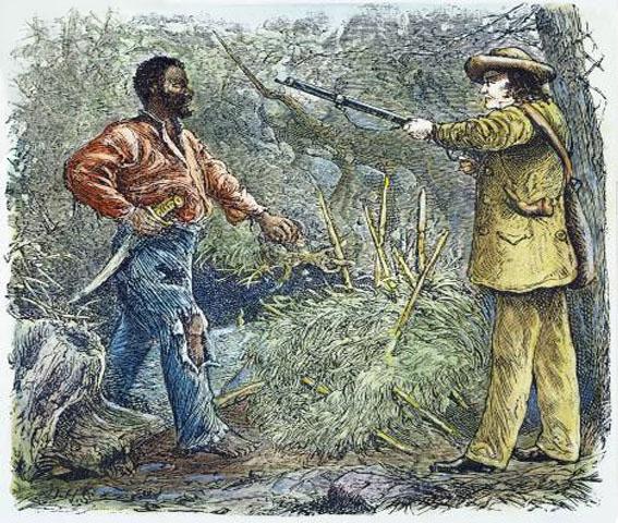 Image result for nat turner leads a   slave rebellion