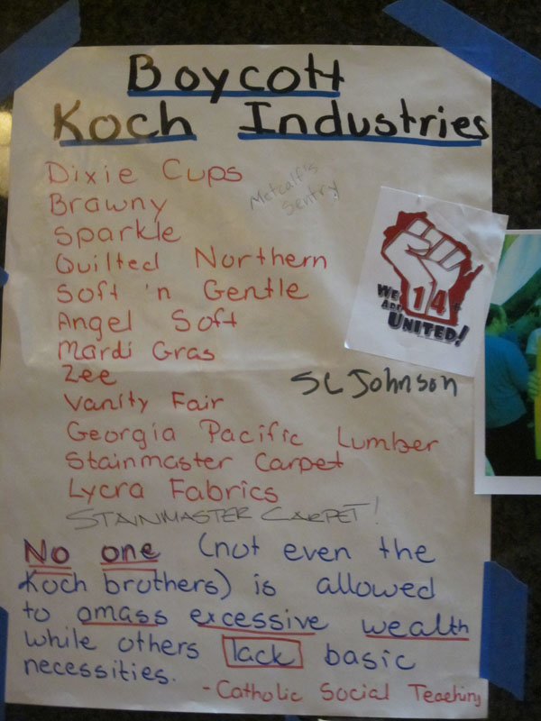 Boycott Of Koch Products Gaining Steam Waging Nonviolence