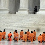 Protesters against Guantanamo in Washington, D.C., on January 11, 2008. Photo by Keith Ivey, via Flickr.