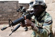 Senegalese and Malian soldiers train with U.S. special forces in Mali. By Staff Sgt. Michael R. Noggle, via Flickr.