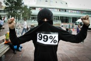 Photo from Occupy Auckland, New Zealand, by Simon Oosterman.