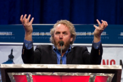 Andrew Breitbart at the Americans for Prosperity Defending the American Dream Conference. Photo by Mark Taylor, via Flickr.