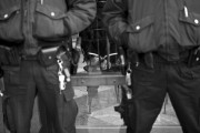 Occupy Wall Street protester arrested on December 12, 2011. By Jessica Lehrman, via Flickr.