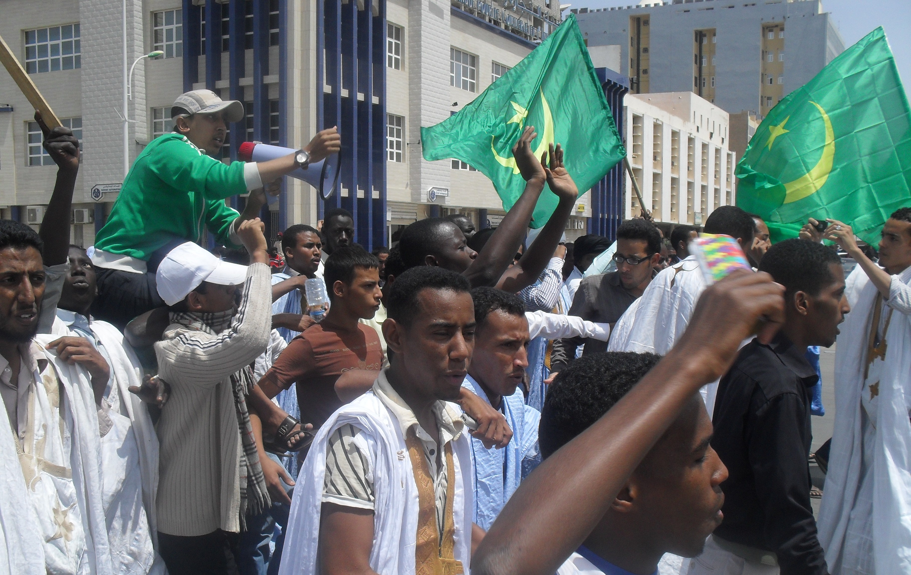The Arab Spring you haven't heard about - in Mauritania ... Arab Spring Violence
