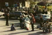 Spirit Affinity Group's action at Livermore National Laboratory in March, 1983. Courtesy of author.