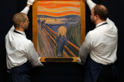 The Scream on auction at Sotheby's, via The Fiscal Times.