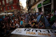 Protesters in Malaga, Spain, on May 12. By Jon Nazca, via Reuters AlertNet.