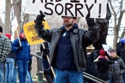 Protesting against Scott Walker, March 2011. By Dave Hoefler, via Flickr.