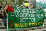 Summer Disobedience School banner.