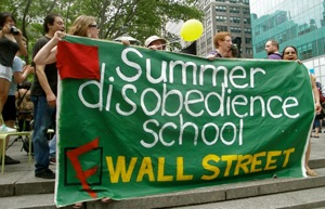 OWS 'Summer Disobedience School' prepares for Black Monday