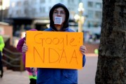 Anti-NDAA protest in Portland, Oregon, on February 2. By Lauriel-Arwen, via Flickr.