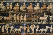 The Standard of Ur, depicting Sumerian social classes, c. 2600-2400 B.C.E. Housed in the British Museum. By Steven Zucker, via Flickr.