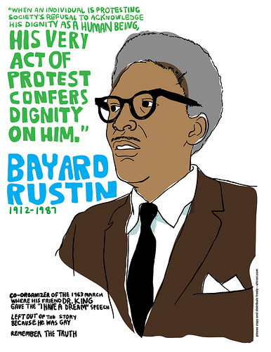 bayard rustin a choice to be Bayard rustin (1912–1987)  an online database that allows college students to search for congregations within a radius of a location of their choice news tehran's use of beirut airport to smuggle arms is major threat to region yaakov lappin jns.