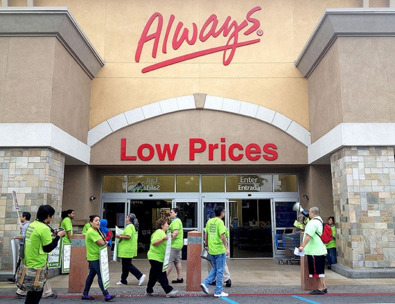 Striking Walmart workers escalate toward Black Friday