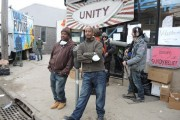 Rockaway Park residents in front of YANA Community Center. (Facebook/Occupy Sandy Relief NYC)