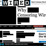 Wired magazine's website on January 18, 2012.