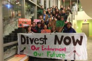 The Tufts Community Union passed a resolution calling on the president and Board of Trustees to divest from fossil fuels earlier this month. (GoFossilFree.org)