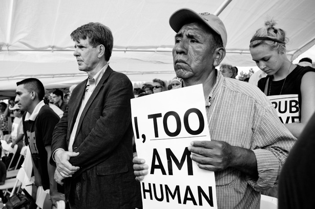 Coalition of Immokalee Workers protest on March 10, 2012. (Coalition of Immokalee Workers)