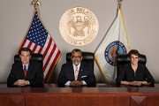 The three sitting members of the National Labor Relations Board, which is supposed to have five members in all. (nlrb.gov)