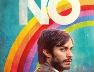 "Spanish-language promotional poster for ""No."" (Monsieur X Studio)"