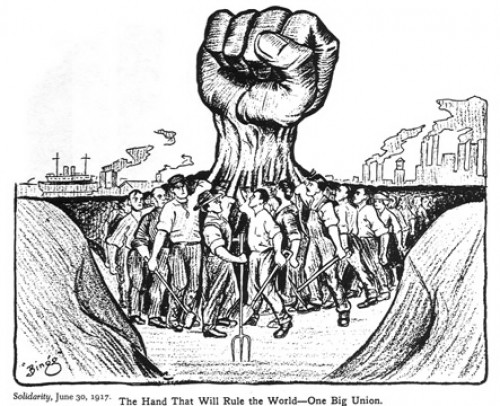 International Workers of the World poster. (IWW)