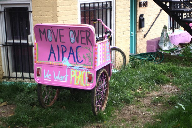 At the Code Pink headquartersin Washington, D.C. (Flickr/Chris Goldberg)