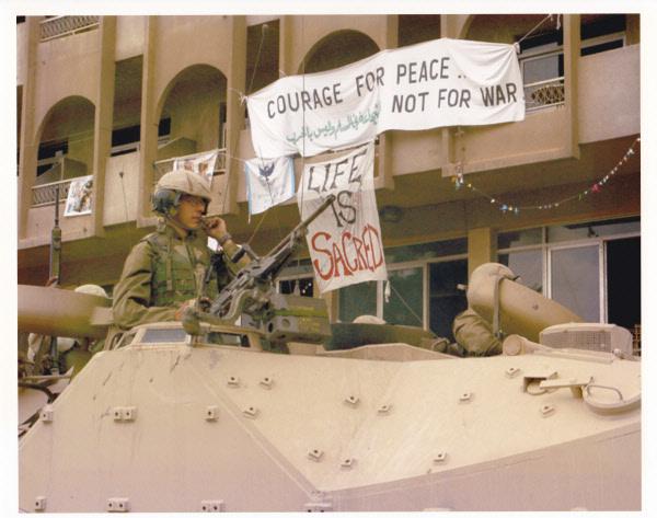 (WNV/Iraq Peace Team)