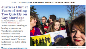 Screenshot from NYTimes.com, March 26, 2013, 12:52 EST. (WNV)