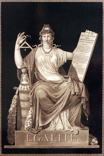 """""""Égalité"""" by Jean-Guillaume Moitte, 1793. (Wikimedia/Deutsches Historisches Museum Berlin)"""