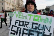 March for gun control in January in Washington, D.C. (Flickr/Elvert Barnes)