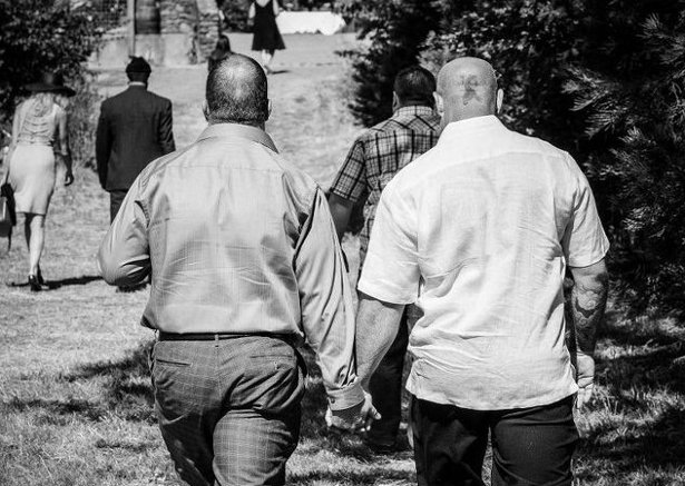 Two Men Holding Hands Black And White Get real about privilege ...