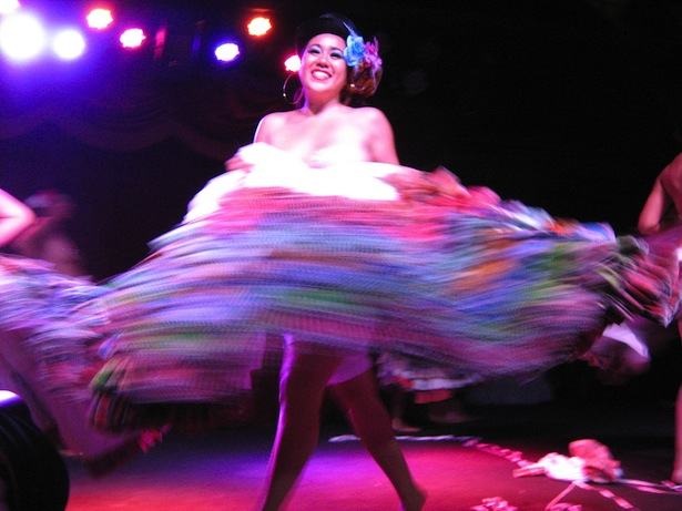 Brown Girls Burlesque performs at the New York Burlesque Festival in 2010. (Flickr/Creatrixtiara)