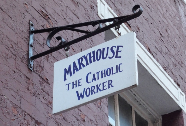 Mary House Catholic Worker on Third Street in Manhattan's East Village. (Flickr/Jim Forest)