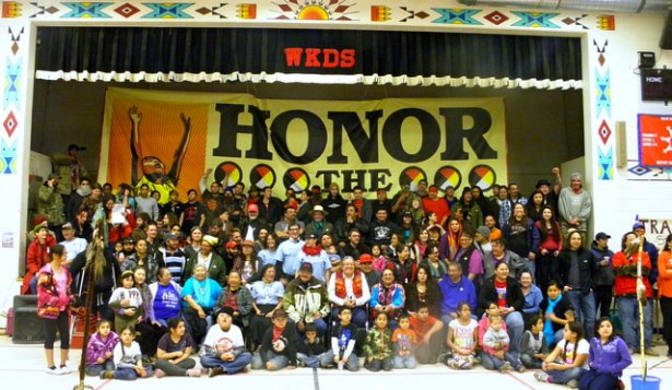 The last day of the Moccasins on the Ground gathering and training in Pine Ridge, S.D.