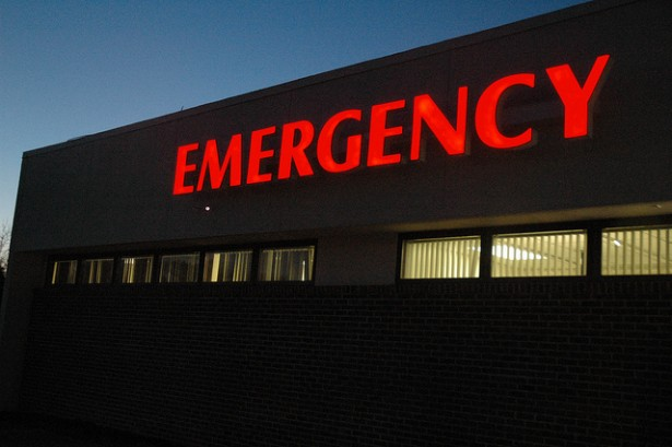 The average cost for a hospital visit in 2010 was nearly $10,000. (Flickr / KOMUnews)