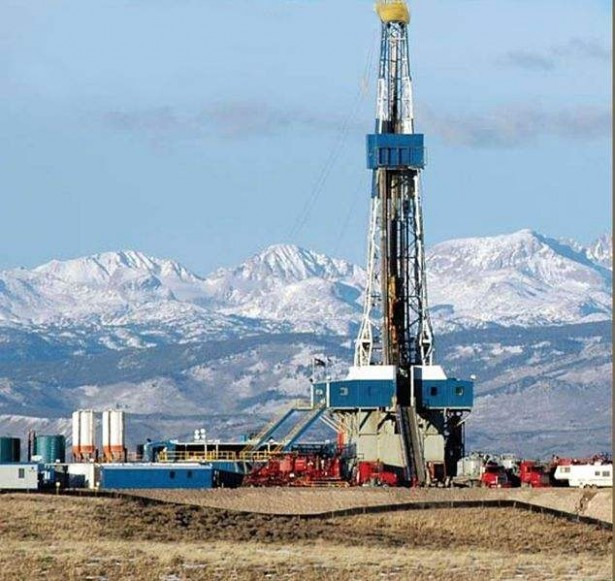 The Pinedale Anticline Natural Gas Field in west-central Wyoming is on 80 percent federally owned land. (Wikimedia / BLM)