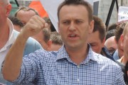 Russian opposition leader and anti-corruption activist Alexei Navalny leads a protest on June 12, Constitution Day. (Wikimedia)