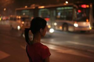 A woman in Beijing.(Flickr/ernop)