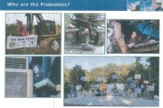A TransCanada PowerPoint slide depicting anti-pipeline activists was used to brief the FBI and law enforcement officials. (Tar Sands Blockade)