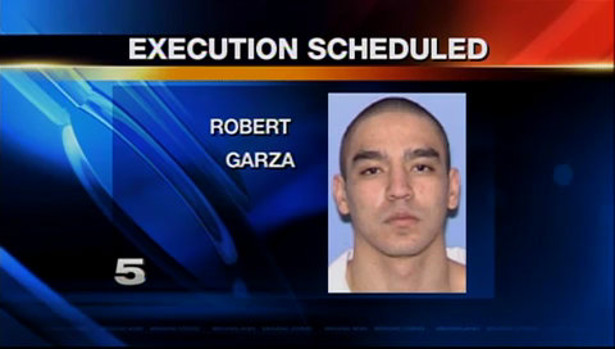 Robert Garza as depicted on a local news station. (KRGV.com)