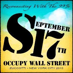 Artwork for Occupy Wall Street's Sept. 17, 2013, actions. (NYCGA.net)