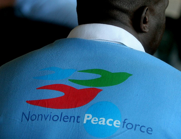 Kenyan Nonviolent Peaceforce worker Peters Nyawanda in Sri Lanka. (Flickr/Nonviolent Peaceforce)