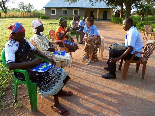 Nonviolent Peaceforce training at Yeri, South Sudan, in November 2011. (Flickr/Nonviolent Peaceforce)