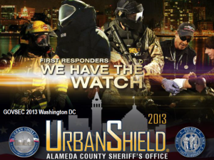 Image from a promotional presentation for Urban Shield 2013. (Alameda County Sheriff's Office)