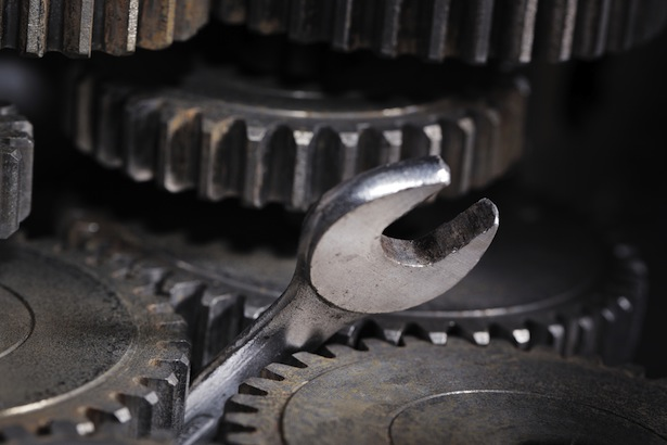 Image result for a wrency in the gears