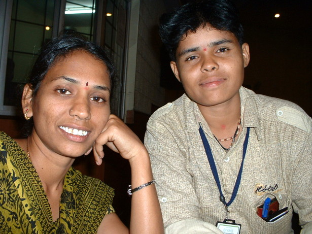 Kavya and Kiran. (WNV/Pushpa Achanta)