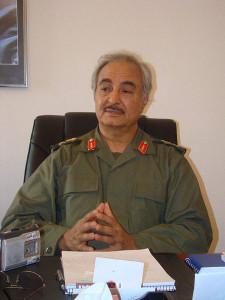 Maj. Gen. Khalifa Hifter (Flickr/Magharebia)